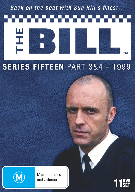 The Bill - Series 15 Part 3 & 4 DVD