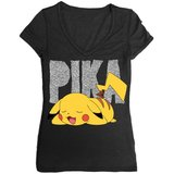 Pokemon Pikachu Ladies T-Shirt (Large)