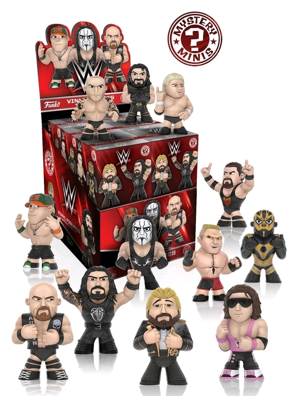 WWE Mystery: Series 2 - Mini Vinyl Figure (Blind Box)