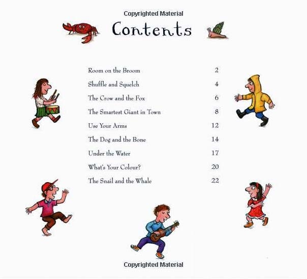 Room on the Broom and Other Songs (Book + CD) by Julia Donaldson image