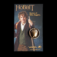 The Hobbit - Bilbo Baggins Acorn Button