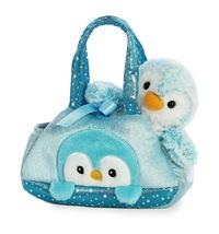 Aurora: Fancy Pal Pet Carrier – Blue Penguin