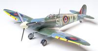 Tamiya British Supermarine Spitfire Mk.Vb 1/48 Aircraft Model Kit image