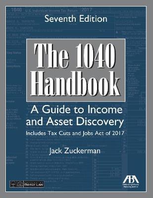 The 1040 Handbook by Jack Zuckerman
