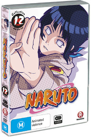 Naruto (Uncut) Collection 12 (Eps 150-163), on DVD