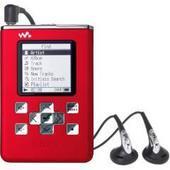 Sony Walkman 20GB Hard Drive MP3 ATRAC3 Red NWHD5R