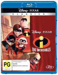 The Incredibles on Blu-ray