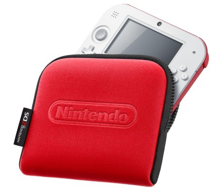 Nintendo 2DS Carry Case (Red)