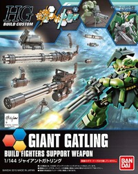 HGBC 1/144 Giant Gatling Accessories Model Kit