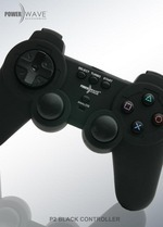 Powerwave Controller Black for PlayStation 2