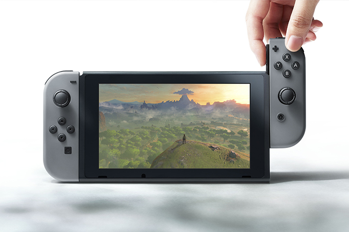 Nintendo Switch Joy-Con Grey Controller Set for Switch image
