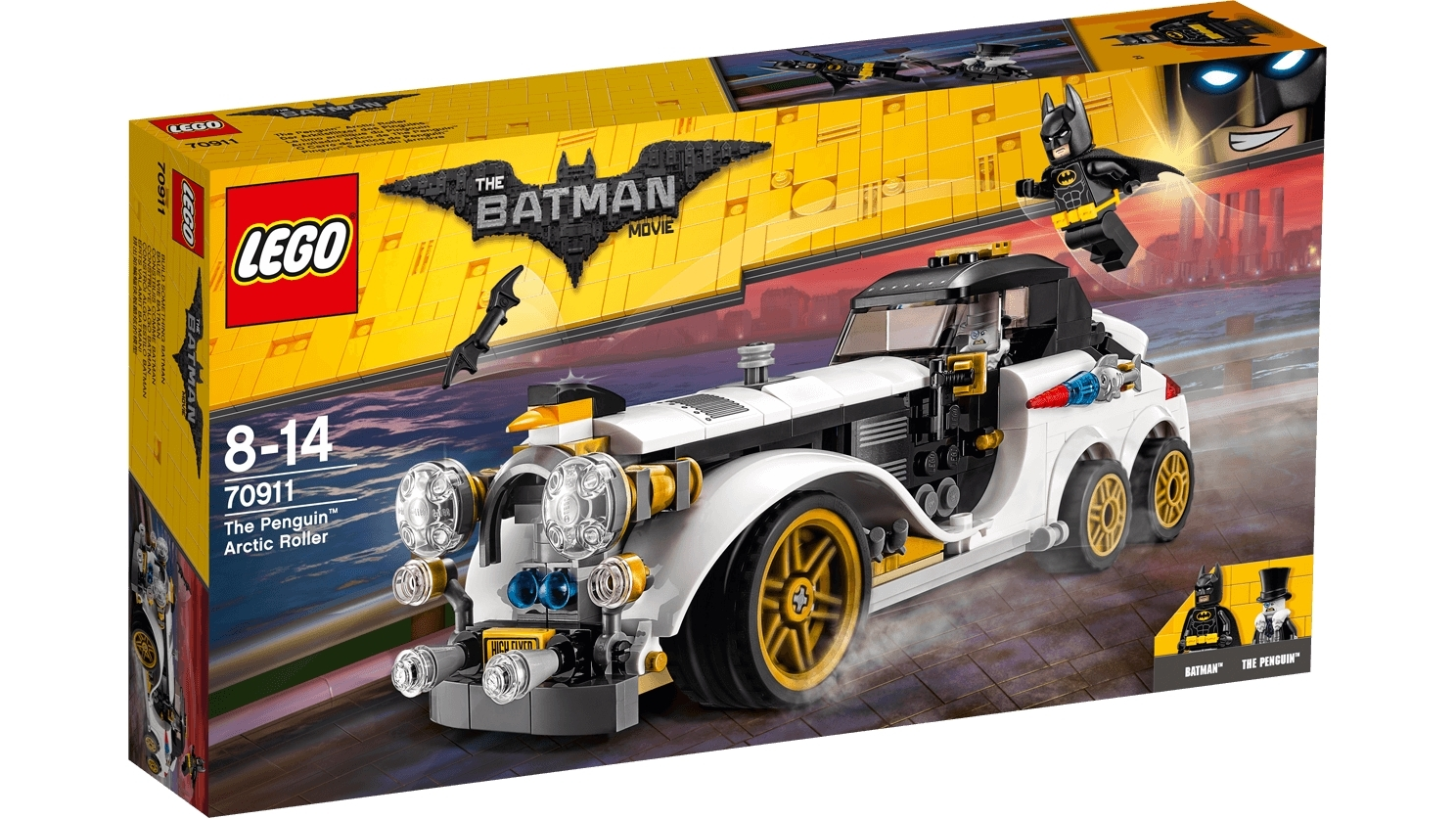 LEGO Batman Movie: The Penguin Arctic Roller (70911) image