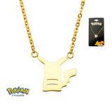 Pokemon Pikachu Gold PVD Plated Necklace