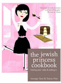 The Jewish Princess Cookbook by Tracey Fine image