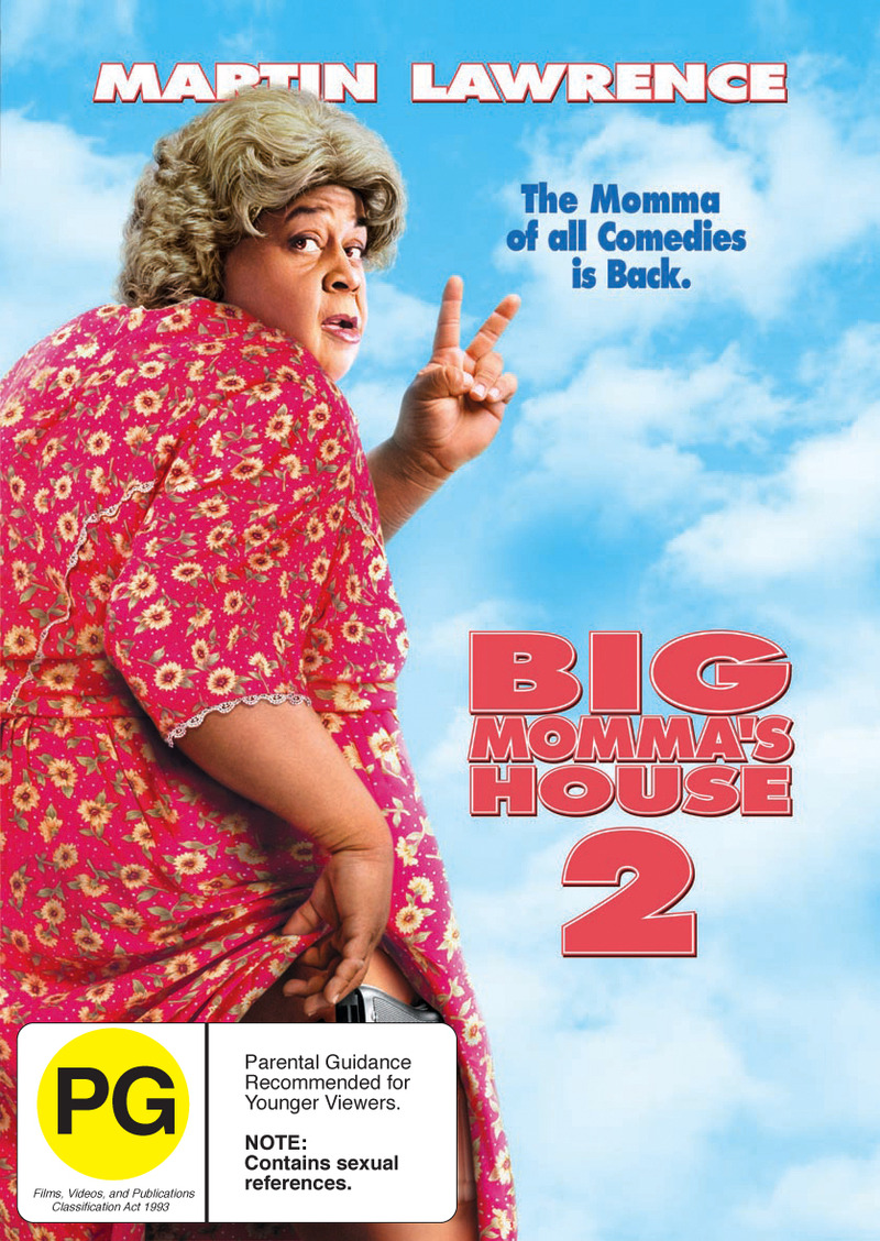 Big Momma's House 2 on DVD image
