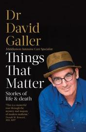 Things That Matter by David Galler image