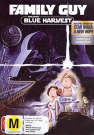 Family Guy Presents Blue Harvest on DVD image