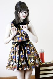 Gallery Le Meow Dress (L)