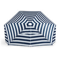 Picnic Time: Brolly Beach Umbrella Tent (Navy and White Stripe) image