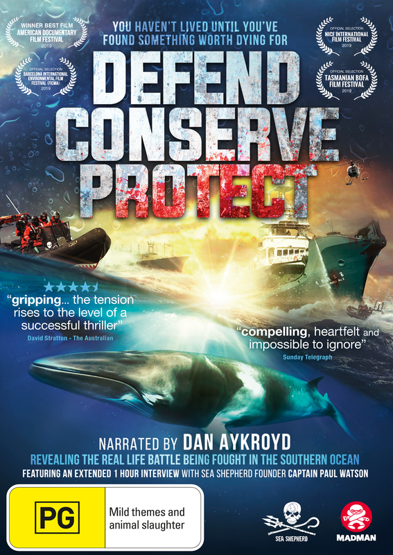 Defend Conserve Protect on DVD