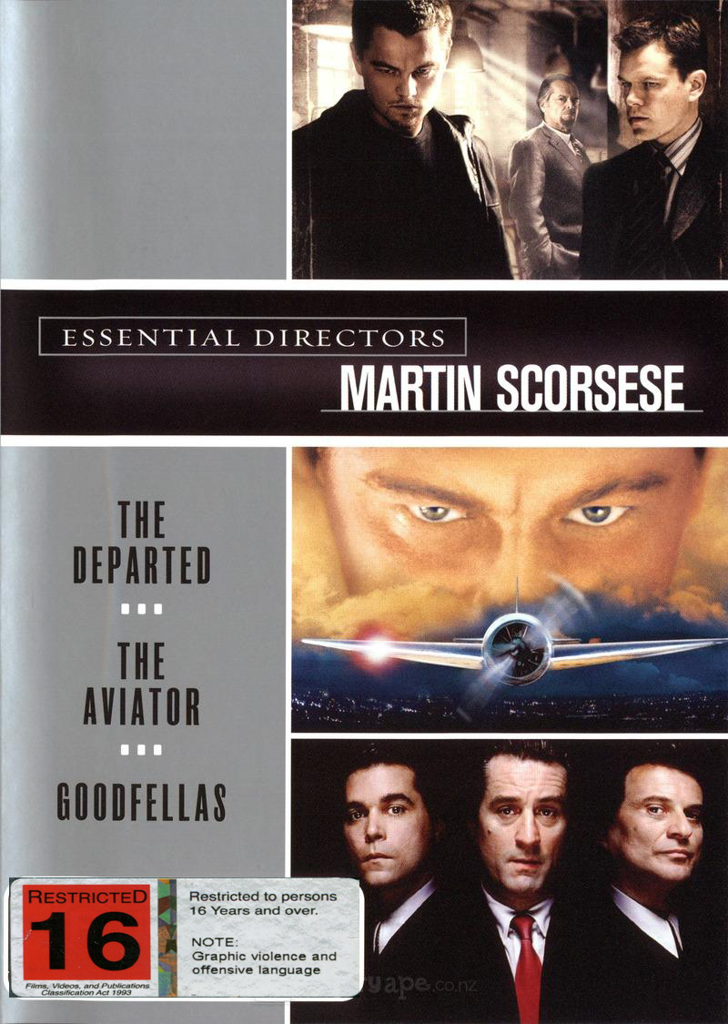Scorsese Collection (3 Disc) on DVD image