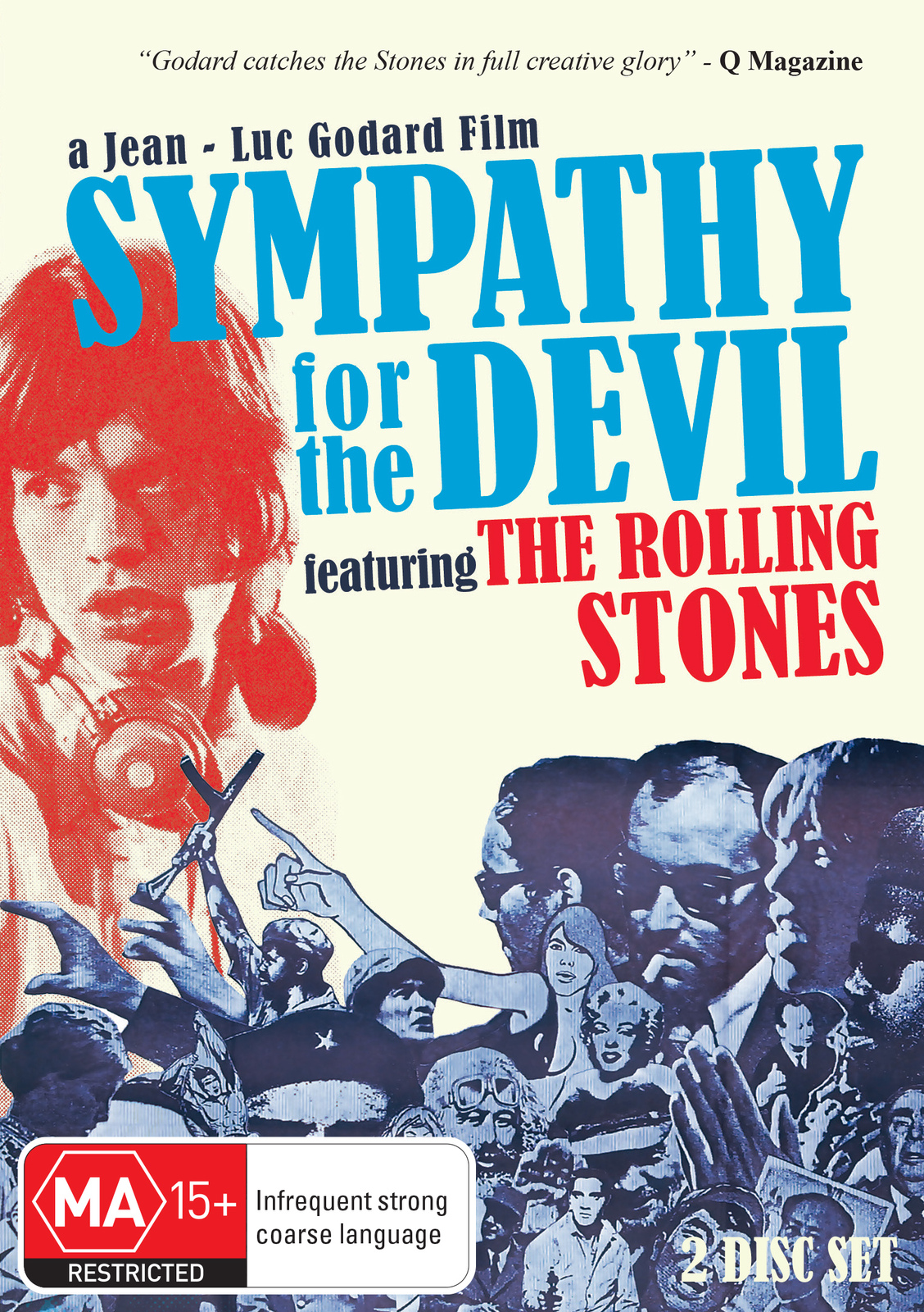 Sympathy for the Devil: The Rolling Stones on DVD image
