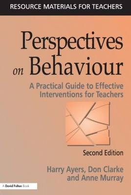 Perspectives on Behaviour by Harry Ayers image