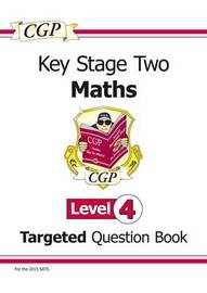 KS2 Maths Question Book - Level 4 by CGP Books image