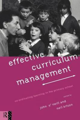 Effective Curriculum Management