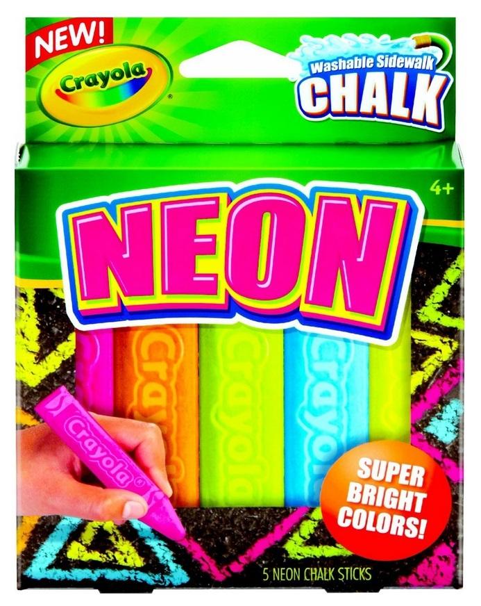 Crayola: Sidewalk Chalk Neon image