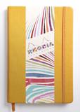 Rhodiarama A5 Webnotebook Lined (Daffodil Yellow )