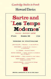 Sartre and 'Les Temps Modernes' by Howard Davies image
