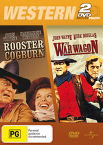 Western 2 DVD Movie Pack (Rooster Cogburn / War Wagon) (2 Disc Set) on DVD