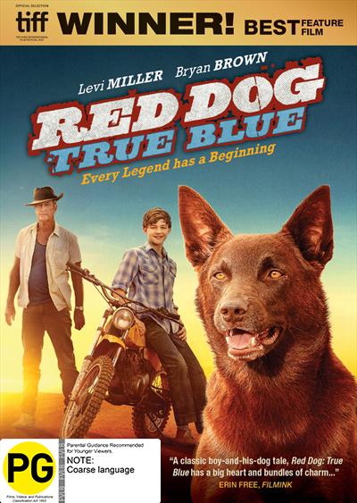 Red Dog: True Blue DVD
