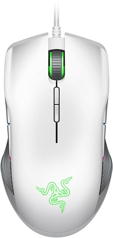 Razer Lancehead Tournament Edition Ambidextrous Gaming Mouse - Mercury for PC Games