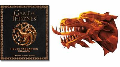 Game of Thrones Mask: House Targaryen Dragon by Wintercroft