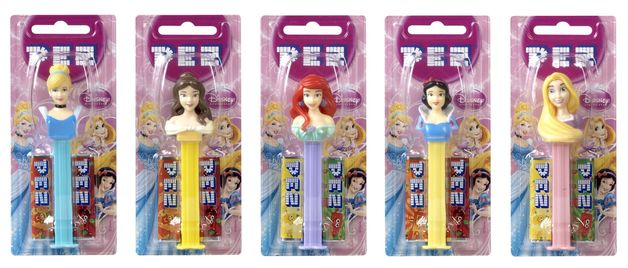 Pez: Disney Princess: Candy Dispenser - 17g