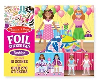 Fashion Fabulous Foils Sticker Pad
