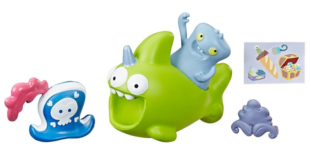UglyDolls: Sharwhal & Babo - Squish & Go Figure Set