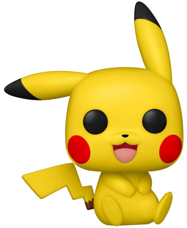 Pokemon: Pikachu (Sitting) - Pop! Vinyl Figure