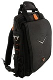 "16"" Canyon Vertical Notebook Bag - Black/Orange"