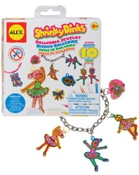 Alex: Shrinky Dinks Ballerina Jewelry