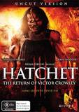 Hatchet III: The Return of Victor Crowley on DVD