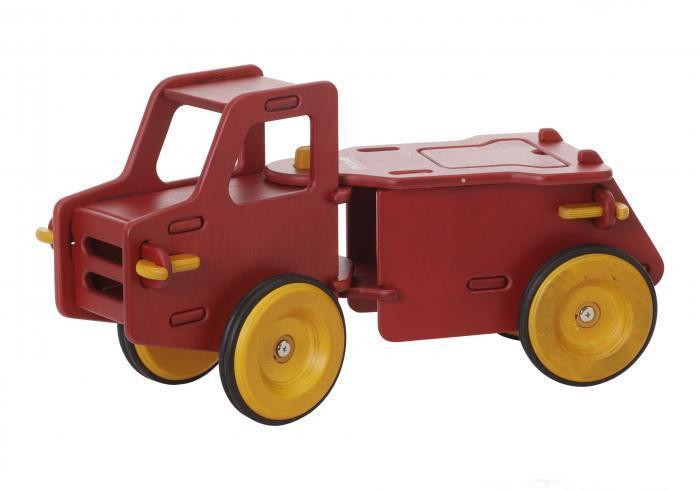 Moover Dump Truck - Red image