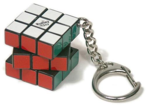Rubik's Cube 3x3 Keyring image