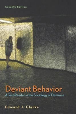 Deviant Behavior 7e by Edward J. Clarke image