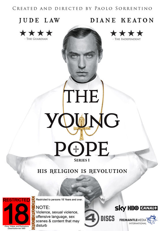 The Young Pope on DVD