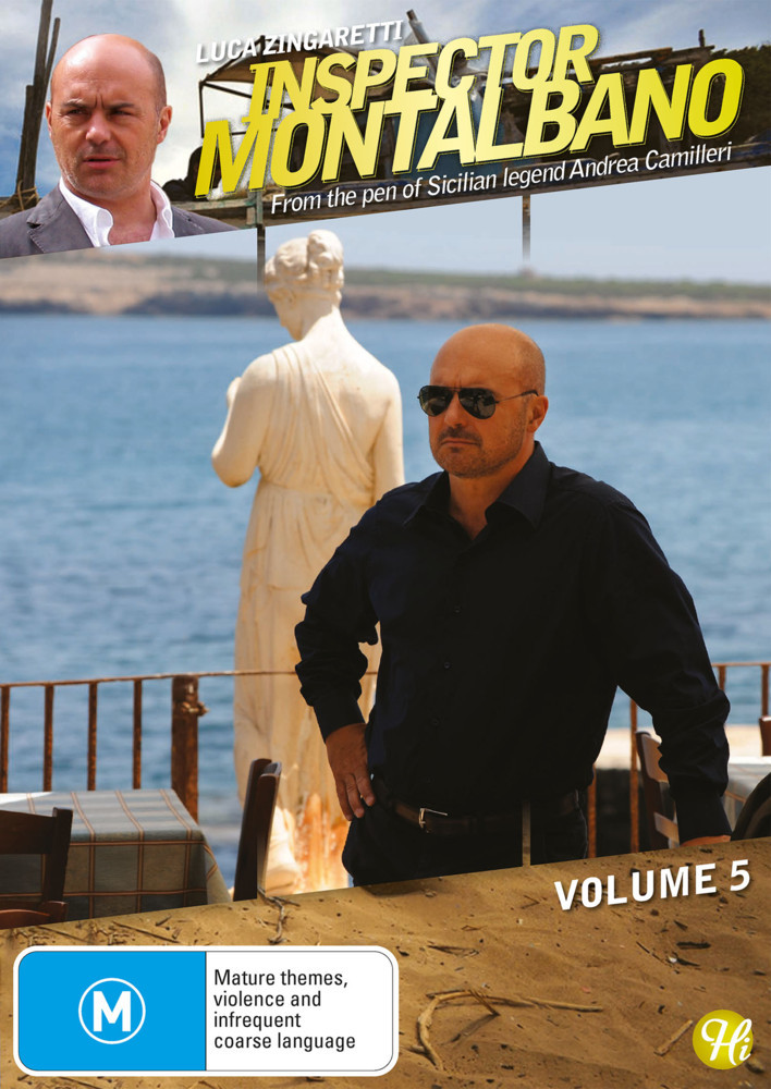 Inspector Montalbano - Vol 5 on DVD image