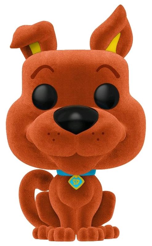 a907744949 Scooby Doo (Flocked Orange) - Pop! Vinyl Figure