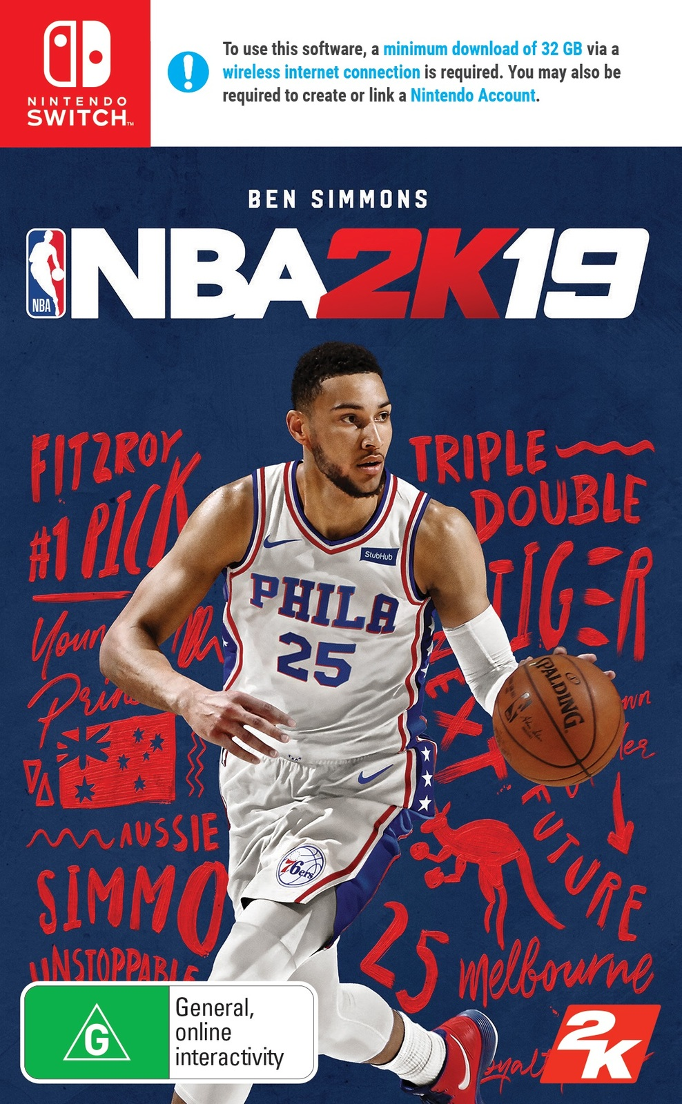 NBA 2K19 for Nintendo Switch image